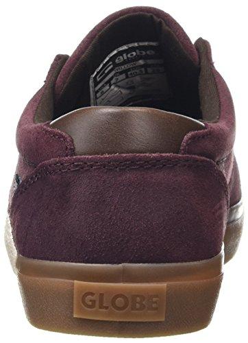 0 Willow Rum Multicolore Uomo Gum Raisin Sneaker Globe IZxzw00
