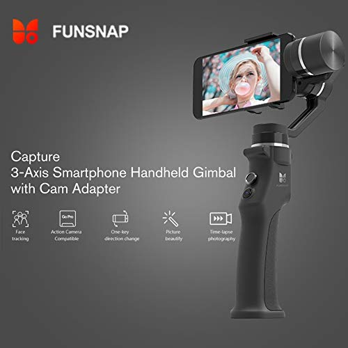 Wikiwand Funsnap Capture 3-Axis Smartphone Selfie Handheld Gimbal with Cam Adapter by Wikiwand (Image #7)