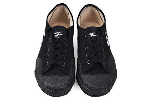 Zapatos de Wushu Shen Long, Negro