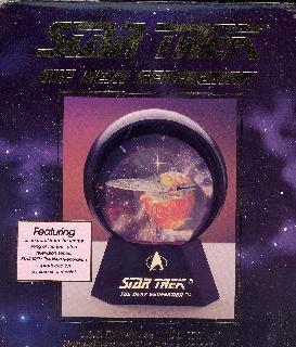 Star Trek U.S.S. Enterprise NCC 1701-D Lighted Musical Star Globe