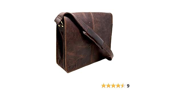 Jeffery Buffalo Leather Laptop Bag