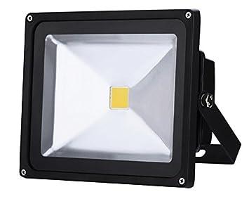 Floodlight LED Foco Proyector LED 50W para Exterior Iluminación ...