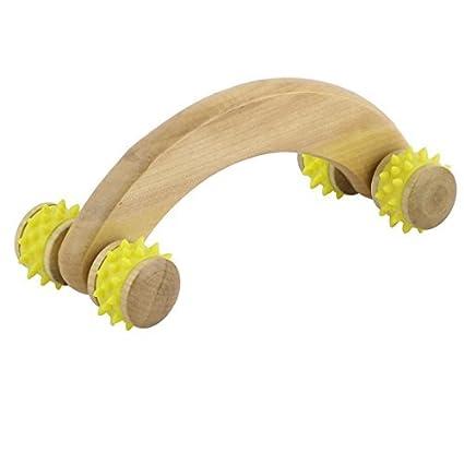 eDealMax estrés en el hogar de madera del masaje del músculo del hombro Alivio del cuello