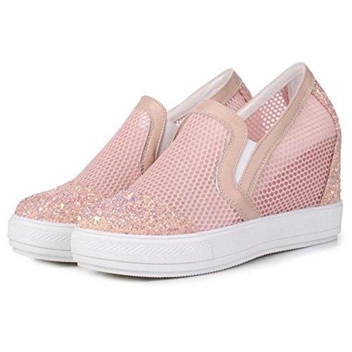 Coolcept Women Platform Pink On Slip Sneakers rw6xqarf
