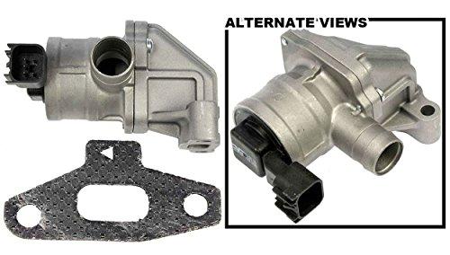 APDTY 022261 Secondary Air Injection Check Valve Fits Select 2006-2009 Buick Rainier / Chevrolet Trailblazer / GMC Envoy / Saab 9-7x (Replaces 12583486, 12619110) -