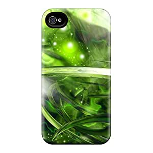 Forever Collectibles Green Space Hard Snap-on Iphone 4/4s Cases