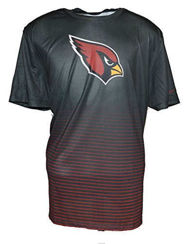 Red Nike Cardinal Shirt (Nike Men's Nike NFL Arizona Cardinals Dri-Fit T-Shirt X-Large Anthracite Red)