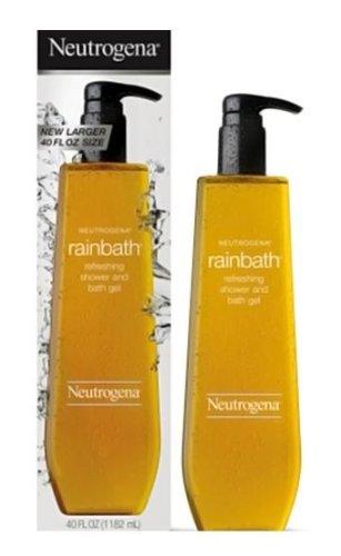 Neutrogena Rainbath Refreshing Shower and Bath Gel- 40 Oz THREE PACK 120 Oz Total by Neutrogena (Refreshing Body Gel)