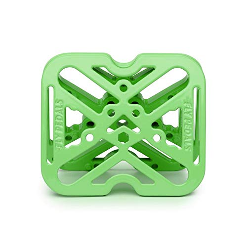 Fly Pedals 2 Universal Platform Adapter for Clipless Pedals Green Road Mounain by Fly Pedals