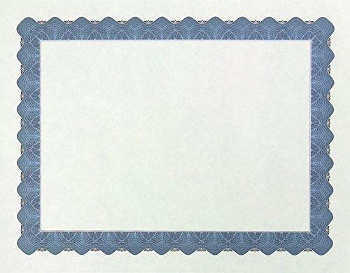Masterpiece Metallic Blue Parchment Certificate - 100 Sheets