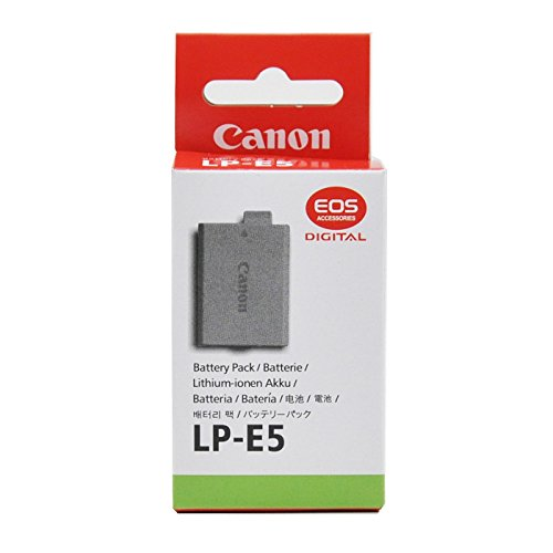 Genuine LP-E5 LPE5 Battery For Canon EOS 450D 500D 1000D EOS Kiss F X2 X 3 Rebel T1I EOS-Rebel XSi
