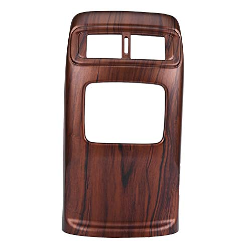 Acouto 1PC Peach Wood Grain Car Rear Air Conditioning Vent Outlet Frame Cover Trim for CRV 2017