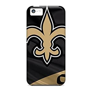 Hot Style YQQ12217bWrF Protective Cases Covers For Iphone5c(new Orleans Saints)