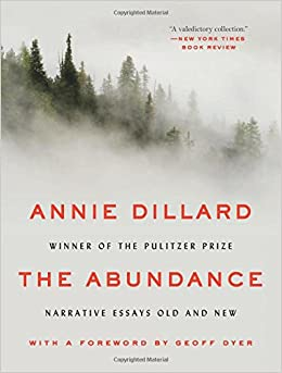 The abundance narrative essays old and new annie dillard