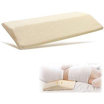 Amazon Com Trucontour Lumbar Pillow For Sleeping Adjustable