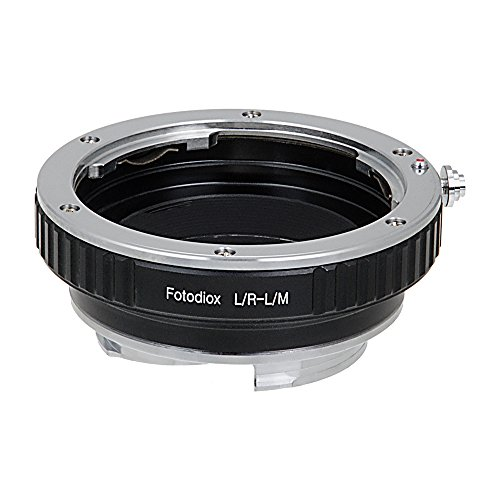Fotodiox Lens Mount Adapter, Leica R Lens to Leica M Adapter, fits Leica M-Monochrome, M8.2, M9, M9-P, M10 and Ricoh GXR mount A12