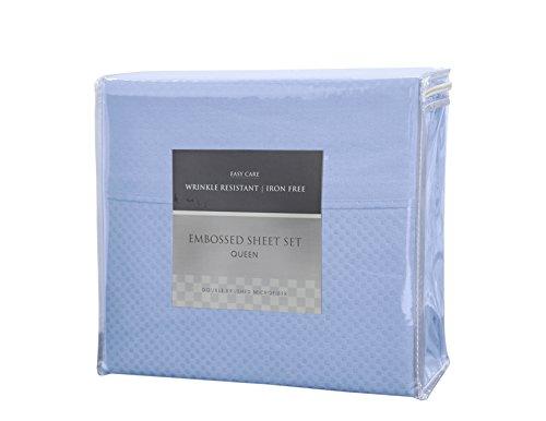 Bed Sheet Bedding Set , Luxurious Checkerboard Design, Soft