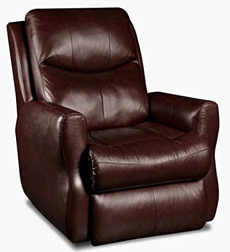 Southern Motion (Leather/Vinyl) Fame Lay Flat (Power Lift Recliner Chair) (Power Head Rest) .Curbside -