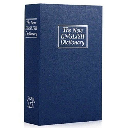 ロックボックスwithキーセーフ辞書ポータブルボックス、保存お金、ジュエリー、、パスポート4.5 X 3.15 X 1.8 in B07DL19C6J