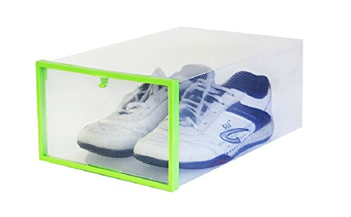 interbusiness-clear-plastic-foldable-shoe-storage-diy-transparent-box-with-frame-container-for-home-
