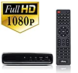 Exuby Digital Converter Box with RCA AV Cable for Recording and Watching Full HD Digital Channels - Instant & Scheduled Recording, 1080P, HDMI Output, 7 Day Electronic Program Guide