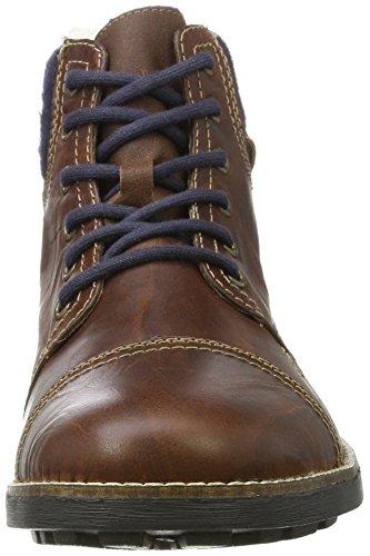 Rieker Herren 36040 Klassische Stiefel Braun (Marron/Sherry/Navy/Mogano 26)