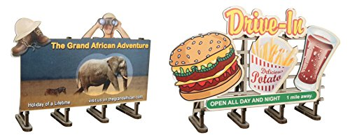 Bachmann Industries O Scale Billboard Kit (2 Pack) for sale  Delivered anywhere in USA