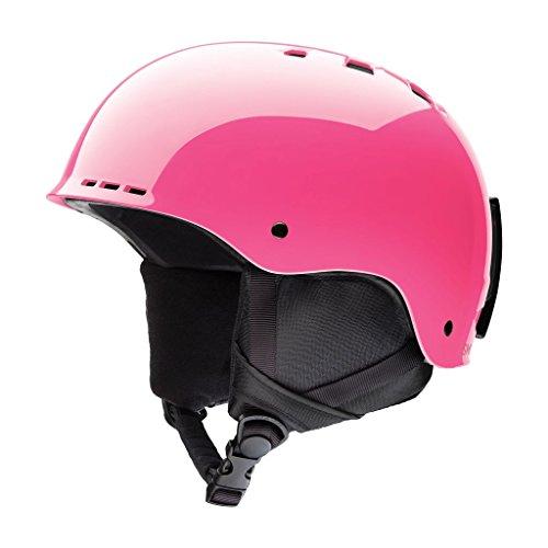 Smith Optics Holt Youth Junior Ski Snowmobile Helmet - Crazy Pink - Medium (Ski Terrain Park)