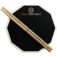 Drum Pad And Sticks Practice Pad By Drum Republic....