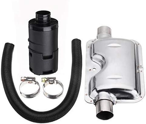Queenwind の24mm の排気の消音装置 + 25mm の取入口フィルター + 自動車の空気のディーゼルヒーターのための誘導の管のホース