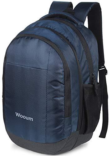 Wooum 15.6 inch Laptop Bag Fashion Backpack Casual Bags Student School Bag Computer Bag College Bag Office Backpack Business Bag Unisex Travel Backpack