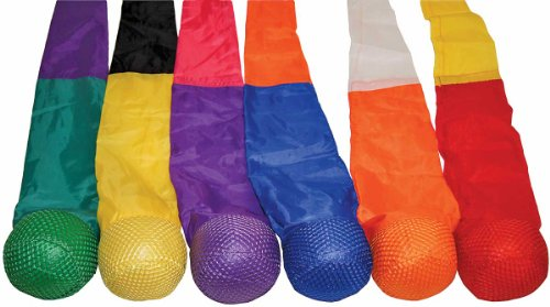 Ultra Soft Tail Ball Set of 6 by Great Lakes Sports
