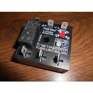 Three Phase Line Voltage Monitor - SSAC TVW9510S0.4S/81M13 3 PHASE VOLTAGE MONITOR 430-480V