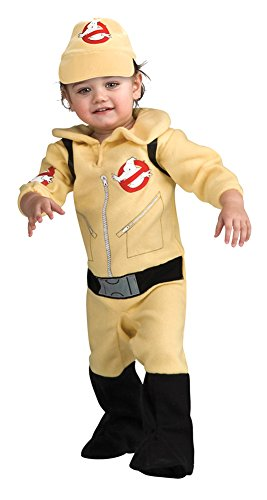 Boys - Ghostbusters Boy 6-12 Months Halloween Costume - 6-12 Months - Toddler Ghostbusters Costumes