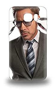 High Quality Robert Downey Jr American Male Marvel S The Avengers Skin 3D PC Case Cover Specially Designed For Galaxy S6 ( Custom Picture iPhone 6, iPhone 6 PLUS, iPhone 5, iPhone 5S, iPhone 5C, iPhone 4, iPhone 4S,Galaxy S6,Galaxy S5,Galaxy S4,Galaxy S3,Note 3,iPad Mini-Mini 2,iPad Air )
