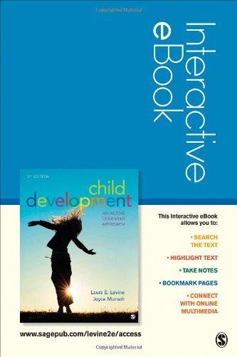 Child Development Interactive eBook: An Active Learning Approach