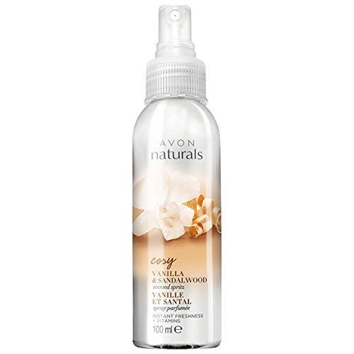 Avon Naturals Scented Spritz Room Linen Home Spray , Body Spray Instant Freshness (Jasmine)