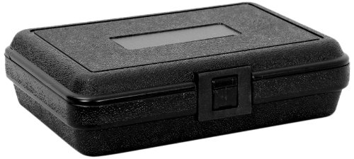 Cases By Source B852 Blow Molded Empty Carry Case, 8.5 x 5.5 x 2.22, - Case Molded Plastic Storage