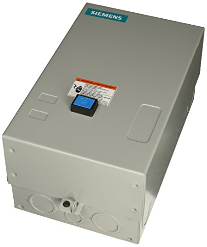 Siemens 14FUF32BH Heavy Duty Motor Starter, Solid State Overload, Auto/Manual Reset, Open Type, NEMA 1 General Purpose Enclosure, 3 Phase, 3 Pole, 2 NEMA Size, 13-52A Amp Range, B Frame Size, 440-480 at 60Hz Coil Voltage by Siemens