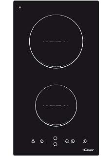 NOXTON Placas de Inducción Vidrio Negro Cocina eléctrica ...