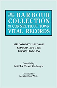 The Barbour Collection of Connecticut Town Vital Records [Vol. 21]