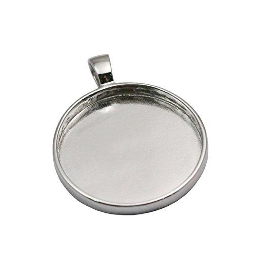 925 Sterling Silver Bezel Setting - 6