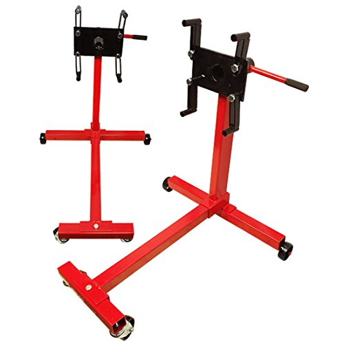 Portable 1000 LBS Mobile Engine Stand Dolly Cart 360 Degree Rotating Heavy Duty by Generic (Image #4)