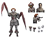 """NECA - IT - 7"""" Scale Action Figure - Ultimate Pennywise The Dancing Clown (2017)"""
