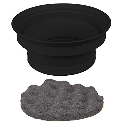 Install Bay IBSBF65 2 Piece Speaker Baffle Kit for 6.5 Inch Speakers - Pair ()