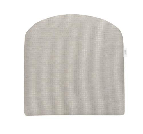 RSH Décor Indoor ~ Outdoor Sunbrella Sailcloth Seagull Foam Contour U-Shape Chair Cushion ~ (22x22x4)