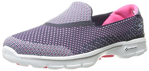 Skechers Go Step (Blue Pink) - 8