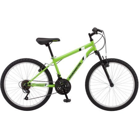Roadmaster 24″ Granite Peak Boys Mountain Bike, Green