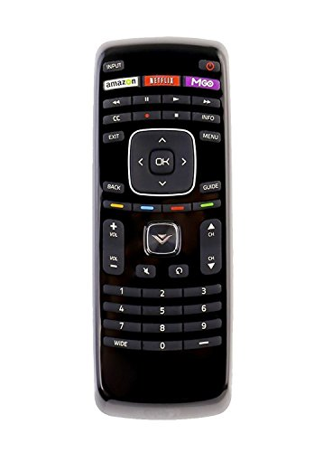 New XRT112 Remote Control for Vizio Smart TV with Shortcut Keys: Amazon, NetFlix and Mgo