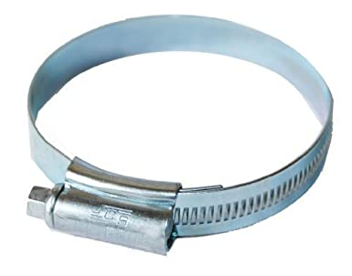 32-50mm Pack 5 Stainless Steel band Hose Clamps Jubilee Style clips
